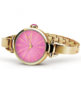 HOOPS B.JOLIE GOLD COLLECTION 2517LGS-06 FUCSIA