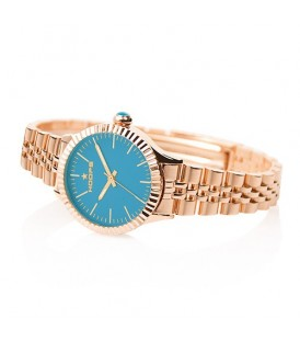 Hoops orologio Collezione Luxury Gold Turchese 2560LG-11