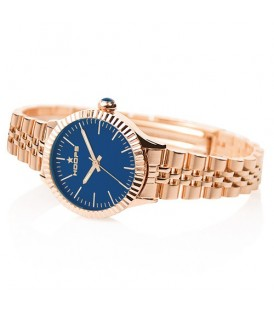 Hoops orologio Collezione Luxury Gold Blu 2560LG-12