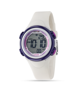 SECTOR Orologio Donna Sportivo EXPANDER R3251591502 Bianco