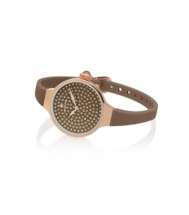 HOOPS Chérie Diamond 160 rose gold 2593LBG08 caramello
