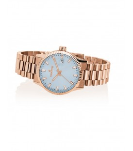 HOOPS Luxury L rose gold 2590LG04 carta da zucchero